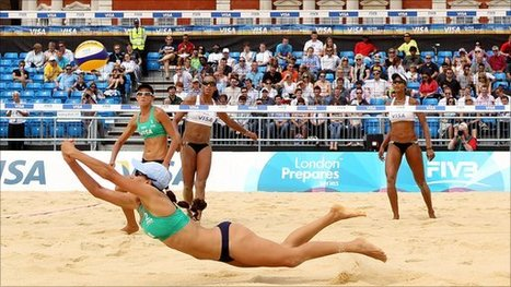 BBC Sport - GB beach volleyball duo happy with London 2012 test event | Beach Volleyball | Scoop.it