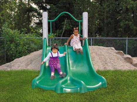 Embankment Slide - Independent Play - Commercial Playground Equipment | Commercial Playground Equipment | Scoop.it