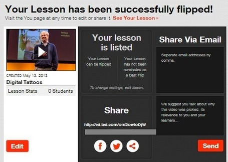 A Step by Step Tutorial on How to Flip your Classroom with TED Ed ~ Educational Technology and Mobile Learning | Flipped Classrooms and Reverse Instruction | Scoop.it