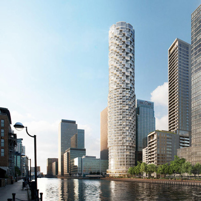 Herzog & de Meuron design SKYSCRAPER for London's Canary Wharf | The Architecture of the City | Scoop.it