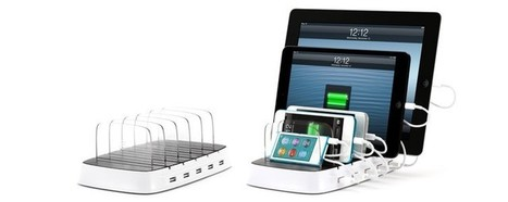PowerDock 5: multiple iPad & iPhone charging station by Griffin Technology | Mobile Technology | Scoop.it