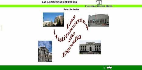 LAS INSTITUCIONES DE ESPAÑA | Rebohistoria | Scoop.it