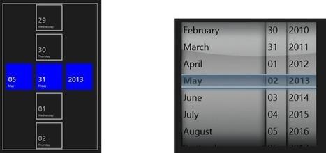 DatePicker calendar custom control for WinRT Xaml - Mim's Blog ... | Windows8 Programming | Scoop.it