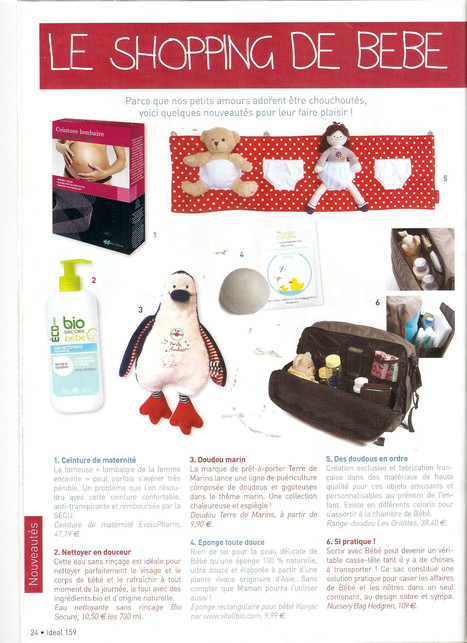 L'eponge Konjac chez Vitabio dans Ideal Layette - Mai 2013 | Vitalibio | Scoop.it