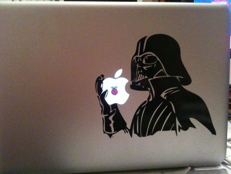 Darth Vader is eating an AppleperryPi | Raspberry Pi | Scoop.it