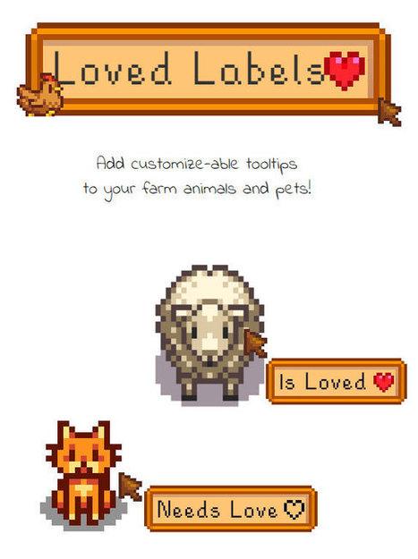 [SMAPI] Loved Labels Mod for Stardew Valley - Stardew Valley Mods | Minecraft New | Scoop.it