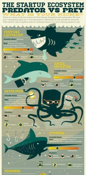 Welcome to the Startup Food Chain | Social Media and Web Infographics hh | Scoop.it