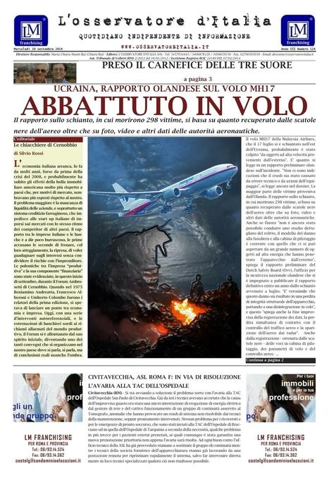 GIUDICE ADINOLFI, SCOMPARSA: L'APPELLO DEI FAMILIARI - L'OSSERVATORE D'ITALIA | CDD VIDEO CONFERENZE INTERVISTE AUDIO E PROVE GRANDEDISCOVERY 1,  2 e 3 | Scoop.it