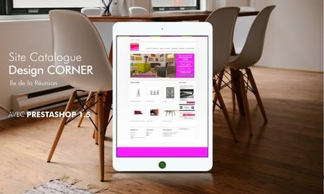 Design Corner - Site catalogue du spécialiste en meubles design à la Réunion | Agence Internet Réunion | Scoop.it