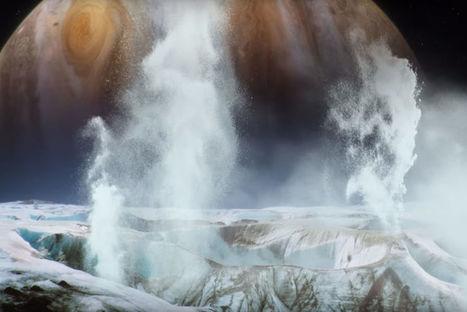 La NASA a découvert des geysers de vapeur d'eau sur Europe, un satellite de Jupiter - L'Usine de l'Aéro | Space business and exploration | Scoop.it
