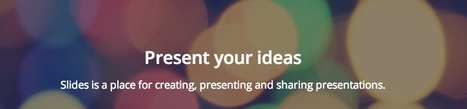 Slides – Create and share presentations online | Communicate...and how! | Scoop.it