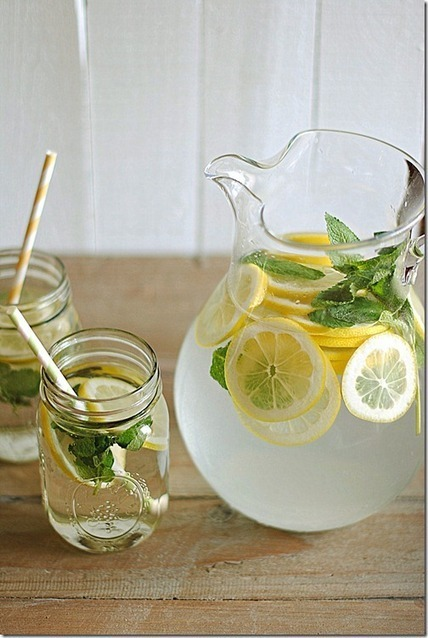 Lemon Water with Fresh Mint, muy sencillo! | Pasión por la Cocina..... | Scoop.it