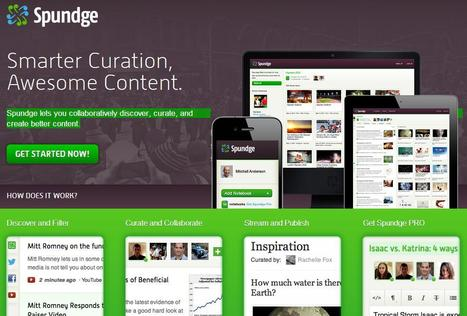 Spundge - collaborative curation | Better know and better use Social Media today (facebook, twitter...) | Scoop.it