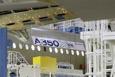 Airbus drops Lithium-Ion batteries for A350 | Business News - Worldwide | Scoop.it