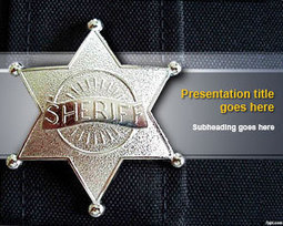 Sheriff PowerPoint Template | Free Powerpoint Templates | Sports | Scoop.it