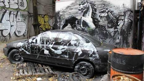 Obras originales de Banksy a 40 euros, Telediario  - RTVE.es A la Carta | Arte y Patrimonio Cultural | Scoop.it
