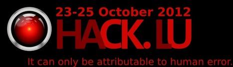 Hack.LU2012 | Luxembourg (Europe) | Scoop.it