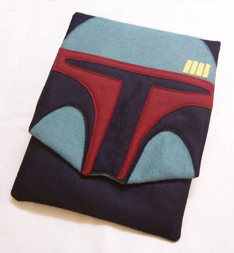 Felt Boba Fett iPad Case | Creativity as changing tool | Scoop.it