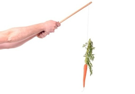 """The Carrot and The Stick """"On Steroids"""" 