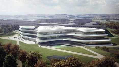 Extreme Green Climate Fund Headquarters in Germany by Laboratory for Visionary Architecture | Extreme Architecture | News, E-learning, Architecture of the future at news.arcilook.com | Architecture e-learning | Scoop.it