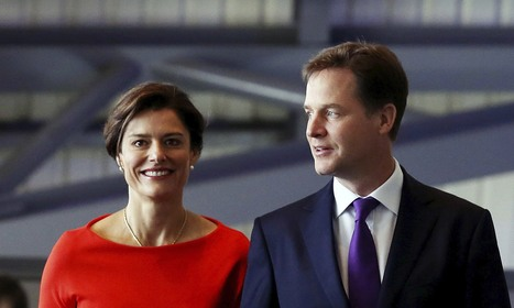 Lib Dems deny Nick Clegg's wife was behind challenge to Lord Rennard   Welfare, Disability, Politics and People's Right's   Scoop.it
