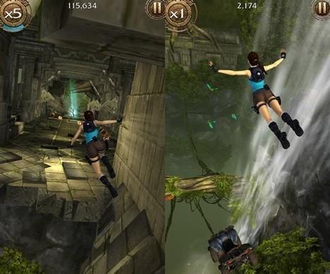 Lara Croft revient dans un nouveau jeu gratuit sur iPhone, Android et Windows Phone | L'e-Space Multimédia | Scoop.it