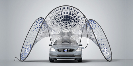 Pure Tension – Volvo V60 Pavilion   Extreme Design   Conception extrême   Scoop.it