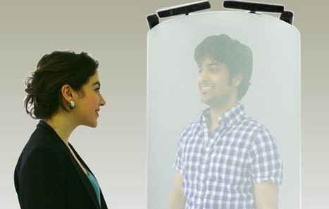 Beam me up Scotty: Life-size hologram-like telepods revolutionize videoconferencing | Amazing Science | Scoop.it