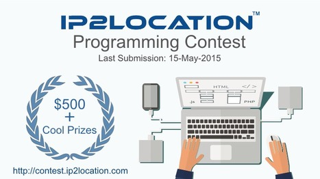 Join IP2Location Programming Contest and Win $500 | ip2location | Scoop.it