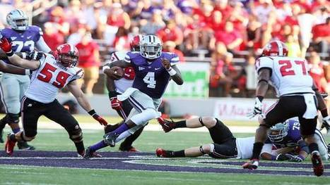 Keeler: Sams has too much horsepower not to see field for K-State | All Things Wildcats | Scoop.it