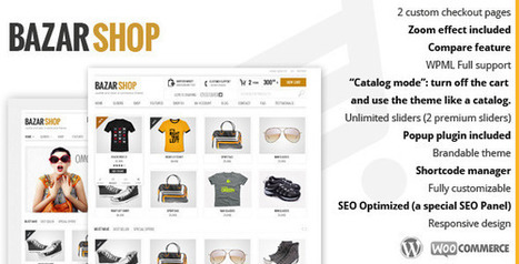 Bazar Shop v2.0.1 Multi-Purpose e-Commerce Theme | Download Free WordPress Theme, WordPress Plugin and Full Scripts. | wordpress | Scoop.it