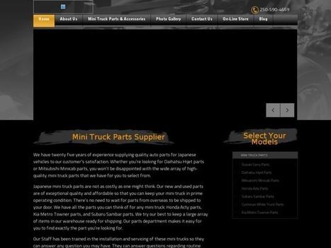 Honda Acty Parts| Mini Truck Parts | JINJ Bookmarks | mini truck parts | Scoop.it