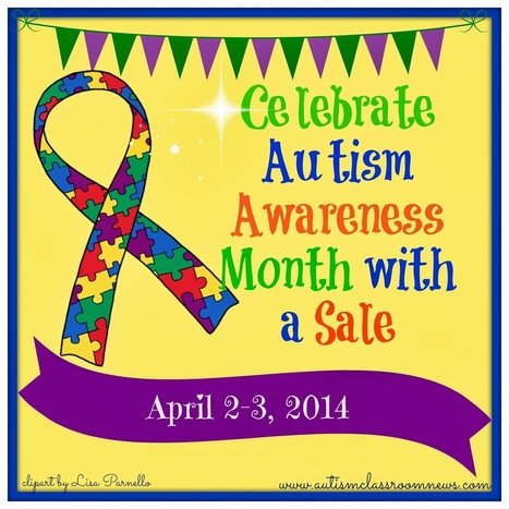 Celebrate Autism Awareness Month with a Sale: Linky with Store on Sale | National Autism Awareness Month 2014 | Scoop.it