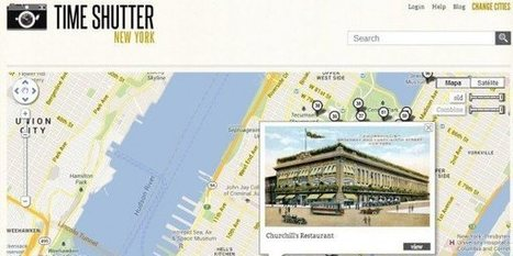 New York y San Francisco a lo vintage en Google Maps | #Fusion Tables | Scoop.it