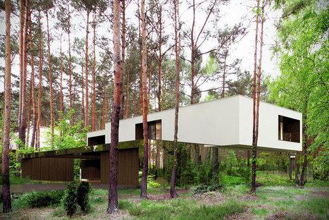La maison miroir : Ces surprenantes maisons en pleine nature | L'art, l'humour et l'humain... | Scoop.it
