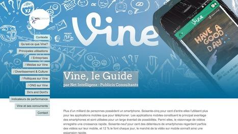 Guide : Vine, le réseau social vu par Net Intelligenz | Time to Learn | Scoop.it