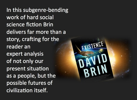 Book Review: Existence by David Brin - Literally Jen | Existence | Scoop.it