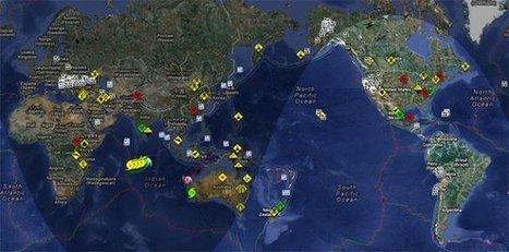 Mapa de todos los desastres naturales y artificiales en tiempo real | Recull diari | Scoop.it
