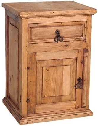 Beautiful Rustic Nightstand | Mexican Furniture and Decor | Scoop.it