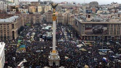 Huge pro-EU protest in Ukraine | Activism, Protest, Citizen Movements, Social Justice | Scoop.it