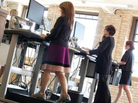Travailler en marchant, l'avenir de votre santé ? | Teletravail et coworking | Scoop.it