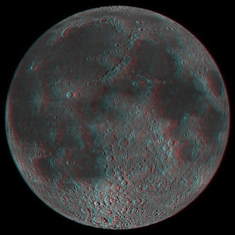 Trippy 3D Moon Illusion Knows When You're Looking at It | The brain and illusions | Scoop.it