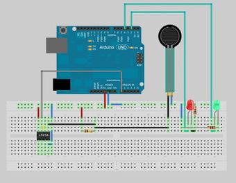 CortoCircuito: Balanza electrónica utilizando un sensor de presión ... | InternetdelasCosas | Scoop.it