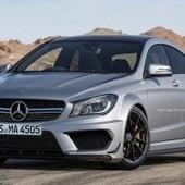 Digital rendering depicts Black Edition Mercedes Benz CLA 45 AMG | Digital Trends | Digital-News on Scoop.it today | Scoop.it