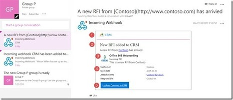 Enhancing your Office 365 Groups using custom Connectors and Cards for Groups | Nova Tech Consulting S.r.l. | Scoop.it