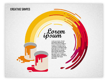 Presentation with Creative Shapes | PowerPoint Presentations and Templates | Scoop.it
