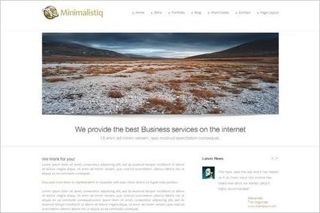 Minimalistiq is a free WordPress Theme by WPLegion   WP Daily Themes   Free & Premium WordPress Themes   Scoop.it