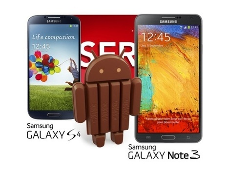Samsung Galaxy S4, Galaxy Note 3 to get Android 4.4 update in January: Report - NDTV | Samsung mobile | Scoop.it