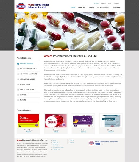 Arsons Pharma Designed and Developed by iLead Digital | Magento eCommerce CMS Design and Development | Scoop.it