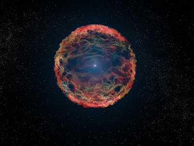 Hubble Finds Companion Star Hidden for 21 Years in a Supernova's Glare   Amazing Science   Scoop.it